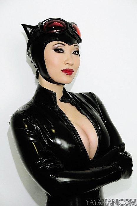 Black Cat Cosplay Models